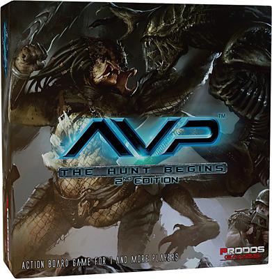 Einfach und sicher online bestellen: Alien vs. Predator Brettspiel 2. Edition (Engl) in Österreich kaufen.