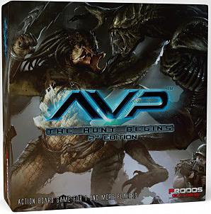 Einfach und sicher online bestellen: Alien vs. Predator Brettspiel 2. Edition in Österreich kaufen.
