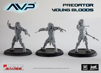 Einfach und sicher online bestellen: Alien vs. Predator Predator Young Bloods in Österreich kaufen.