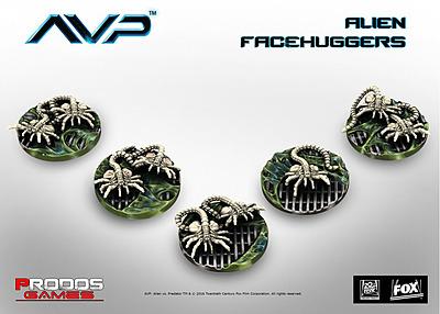 Einfach und sicher online bestellen: Alien vs. Predator Facehuggers in Österreich kaufen.