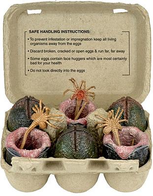 Einfach und sicher online bestellen: Alien Minifiguren Xenomorph Egg Set in Österreich kaufen.