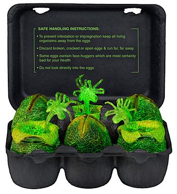 Einfach und sicher online bestellen: Alien Xenomorph Glow in the Dark Egg Set in Österreich kaufen.