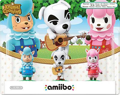 Einfach und sicher online bestellen: Nintendo Animal Crossing amiibo 3Pak in Österreich kaufen.