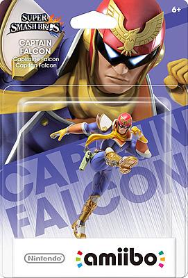 Einfach und sicher online bestellen: Nintendo Captain Falcon amiibo in Österreich kaufen.