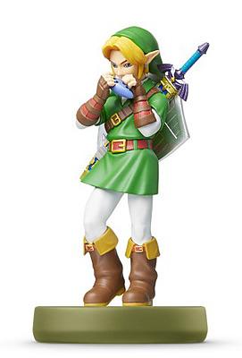 Einfach und sicher online bestellen: Nintendo Link (Ocarina of Time) amiibo in Österreich kaufen.