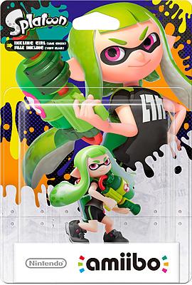 Einfach und sicher online bestellen: Nintendo Inkling-Mädchen amiibo (Hellgrün) in Österreich kaufen.