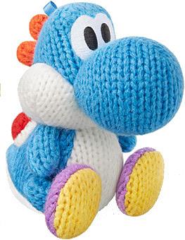 Einfach und sicher online bestellen: Nintendo Yarn Yoshi Blau amiibo in Österreich kaufen.