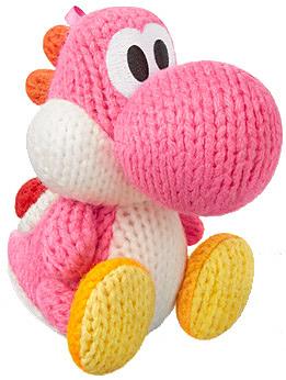 Einfach und sicher online bestellen: Nintendo Yarn Yoshi Pink amiibo in Österreich kaufen.