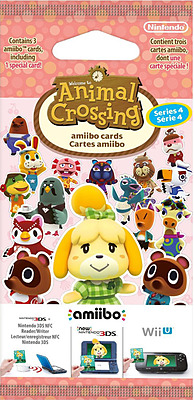 Einfach und sicher online bestellen: Animal Crossing Amiibo Karten (Vol. 4) in Österreich kaufen.