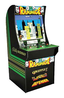 Einfach und sicher online bestellen: Arcade1Up Rampage Mini-Cabinet (122cm) in Österreich kaufen.