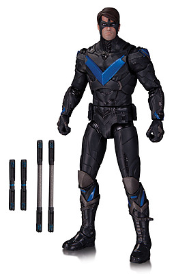 Einfach und sicher online bestellen: Batman Arkham Knight Actionfigur Nightwing in Österreich kaufen.