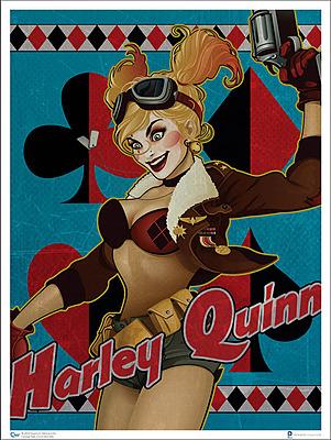 Einfach und sicher online bestellen: DC Comics Bombshells Kunstdruck Harley Quinn in Österreich kaufen.