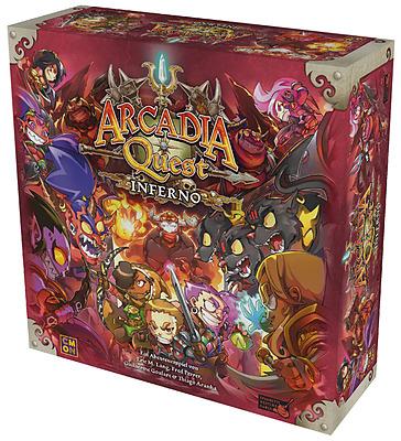 Einfach und sicher online bestellen: Arcadia Quest: Inferno in Österreich kaufen.