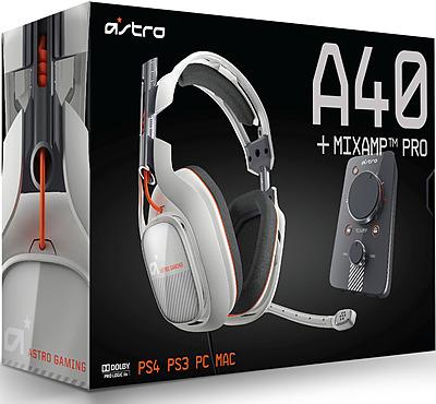 Einfach und sicher online bestellen: Astro Gaming A40 Headset Light Grey inkl. MixAmp in Österreich kaufen.