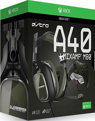 Einfach und sicher online bestellen: Astro Gaming A40 TR Headset Schwarz-Olive + MixAmp in Österreich kaufen.
