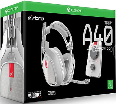Einfach und sicher online bestellen: Astro Gaming A40 TR Headset weiß inkl. MixAmp in Österreich kaufen.