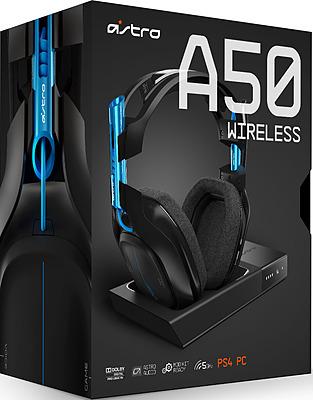 Einfach und sicher online bestellen: Astro Gaming A50 Headset 2016 Black-Blue in Österreich kaufen.