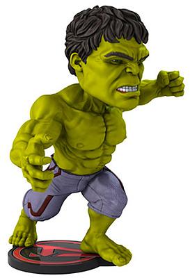 Einfach und sicher online bestellen: Avengers: Age of Ultron Head Knocker XL Hulk 22cm in Österreich kaufen.