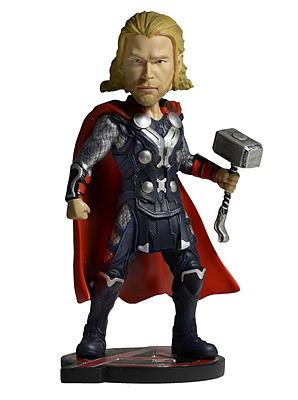 Einfach und sicher online bestellen: Avengers: Age of Ultron Head Knocker Thor 18cm in Österreich kaufen.