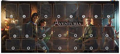 Einfach und sicher online bestellen: Aventuria Spielmatte - Abenteuermodus in Österreich kaufen.