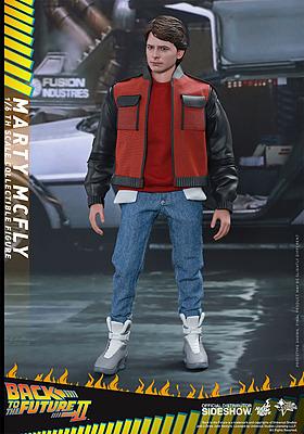 Einfach und sicher online bestellen: Back to the Future Actionfigur Marty McMly 1/6 in Österreich kaufen.