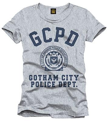 Einfach und sicher online bestellen: Batman T-Shirt GCPD Größe L in Österreich kaufen.