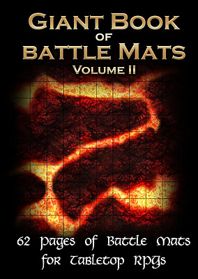 Einfach und sicher online bestellen: The Giant Book of Battle Mats Vol II in Österreich kaufen.