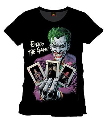 Einfach und sicher online bestellen: Batman T-Shirt Enjoy The Game L in Österreich kaufen.