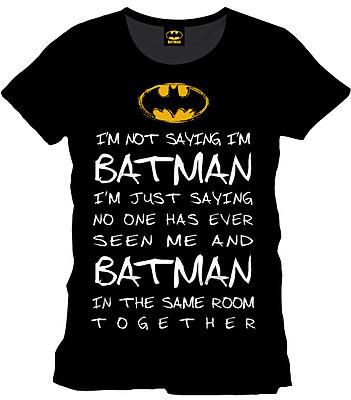 Einfach und sicher online bestellen: Batman T-Shirt Who is Batman M in Österreich kaufen.