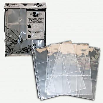 Einfach und sicher online bestellen: Blackfire 9-Pocket Pages Clear in Österreich kaufen.
