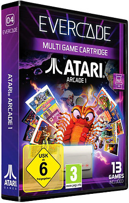 Einfach und sicher online bestellen: Blaze Evercade Atari Arcade 1 in Österreich kaufen.