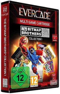 Einfach und sicher online bestellen: Blaze Evercade Bitmap Brothers Collection 1 in Österreich kaufen.