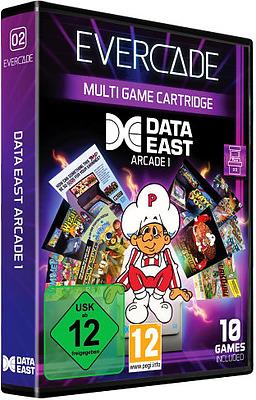 Einfach und sicher online bestellen: Blaze Evercade Data East Arcade 1 in Österreich kaufen.