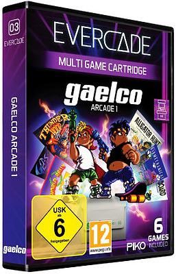 Einfach und sicher online bestellen: Blaze Evercade Gaelco Arcade 1 in Österreich kaufen.
