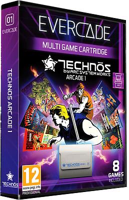 Einfach und sicher online bestellen: Blaze Evercade Technos Arcade 1 in Österreich kaufen.