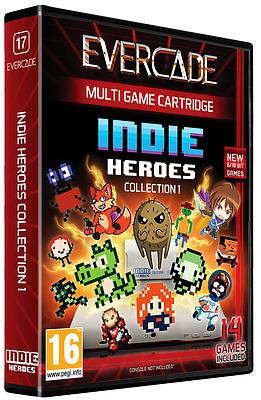 Einfach und sicher online bestellen: Blaze Evercade Indie Heroes Cartridge 1 in Österreich kaufen.