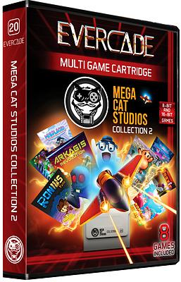 Einfach und sicher online bestellen: Blaze Evercade MegaCat Cart 2 in Österreich kaufen.