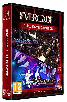 Einfach und sicher online bestellen: Blaze Evercade Xeno Crisis/Tanglewood Dual Game in Österreich kaufen.