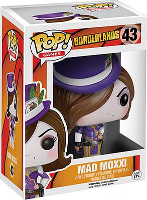 Einfach und sicher online bestellen: Borderlands POP! Games Vinyl Figur Mad Moxxi 9 cm in Österreich kaufen.