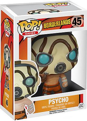Einfach und sicher online bestellen: Borderlands POP! Games Vinyl Figur Psycho 9 cm in Österreich kaufen.