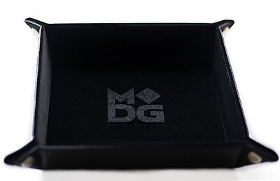 Einfach und sicher online bestellen: Velvet Folding Dice Tray Black in Österreich kaufen.