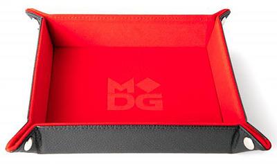 Einfach und sicher online bestellen: Velvet Folding Dice Tray Red in Österreich kaufen.