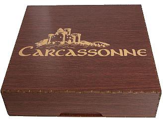 Einfach und sicher online bestellen: Carcassonne Storage Box in Österreich kaufen.