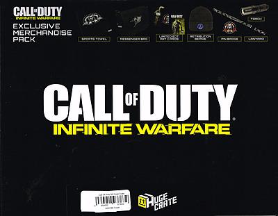 Einfach und sicher online bestellen: Huge Crate Fanbox Call of Duty Infinity Warfare in Österreich kaufen.