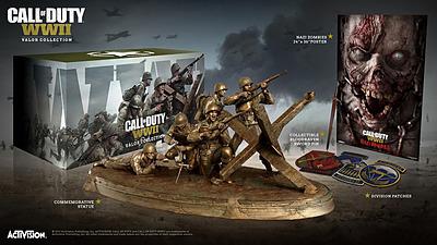 Einfach und sicher online bestellen: Call of Duty: WWII Valor Collection (ohne Spiel) in Österreich kaufen.