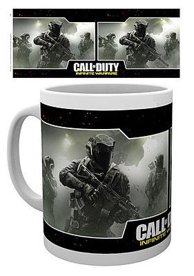 Einfach und sicher online bestellen: Call of Duty: Infinite Warfare Tasse Game Cover in Österreich kaufen.