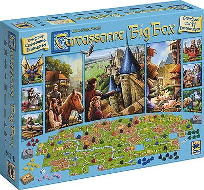 Einfach und sicher online bestellen: Carcassonne: Big Box in Österreich kaufen.