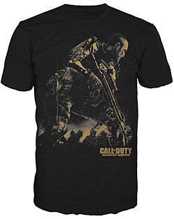 Einfach und sicher online bestellen: Call of Duty: Advanced Warfare T-Shirt Golden L in Österreich kaufen.