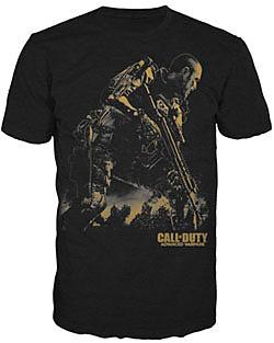 Einfach und sicher online bestellen: Call of Duty: Advanced Warfare T-Shirt Golden S in Österreich kaufen.