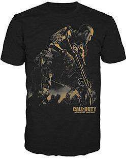 Einfach und sicher online bestellen: Call of Duty: Advanced Warfare T-Shirt Golden XL in Österreich kaufen.